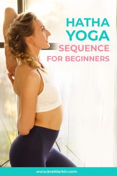Learn more about Hatha Yoga Sequence for Beginners. Whether you're brand new to yoga or a seasoned yoga teacher, planning out a hatha yoga sequence for beginners can be a sweet, easy process. See my favorite yoga sequence for beginners in this post. #hathayoga #beginnersyoga #yogasequence #yogasequenceforbeginners Hatha Yoga Poses, Easy Yoga Poses, Vinyasa Yoga, Yoga Sequences, Become A Yoga Instructor, Yoga Sequence For Beginners, Beginner Yoga, Daily Yoga, Fit Board Workouts