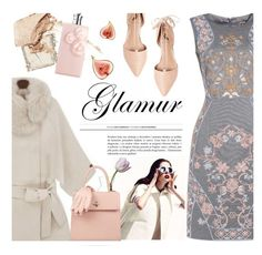 """""""Glamur (glamour)"""" by ansev ❤ liked on Polyvore featuring Ava & Aiden, NARS Cosmetics, Burberry, Valentino and Charlotte Olympia"""