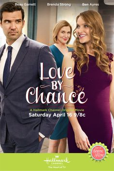 "Its a Wonderful Movie - Your Guide to Family Movies on TV: Hallmark Spring Fling Flick ""Love By Chance"""