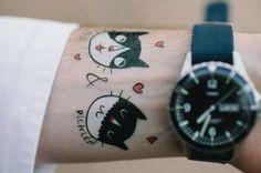 Temporary tattoos from Tuesday Bassen