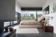 The surprising Comfortable La Vinya Home Interior With Modern Minimalist Bedroom Design Beautiful Interior Design, Modern Interior Design, Interior Architecture, Home Bedroom, Bedroom Decor, Design Bedroom, Master Bedroom, Bedrooms, Modern Minimalist Bedroom