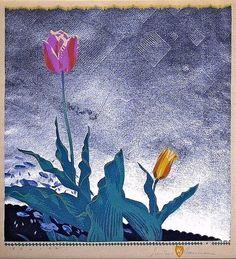 """Tulips"" - Gustave Baumann"