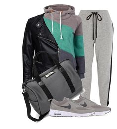 """""""Untitled #469"""" by claudiadessi on Polyvore featuring Markus Lupfer, Sisters Point, NIKE, DAY Birger et Mikkelsen, women's clothing, women's fashion, women, female, woman and misses"""