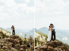I can't wait to get married in RMNP after seeing how incredible Erin and Graham's wedding pictures turned out!| Rocky Mountain National Park elopement photos by Colorado hiking wedding photographer, Maddie Mae.