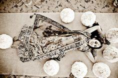 Vintage Black and White Indian Wedding Photos on IndianWeddingSite.com