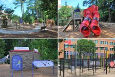 WakeMed's PlayWELL Park at the Poe Center... North Carolina's only health education park and playground!  Open M-F 8:30am - 5pm