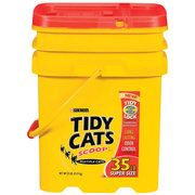 Ideas For Reusing Tidy Cat Kitty Litter Containers (we just got back from camping and used 2 of these containers for our supplies and dishes. they were water proof-storm came through- and kept the bugs out.-Christina