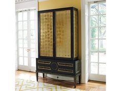Global Views Collectors Cabinet-Black 2446