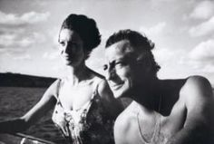 Marella and Gianni Agnelli by Howell Conant