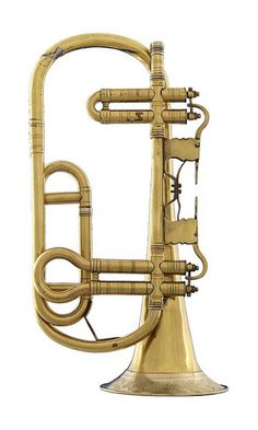 cinoh: Trumpet in G, 1830. Vogtland, Germany. Museum Markneukirchen