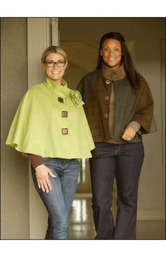 The Casual Cape – IJ948 sewing pattern from IndygoJunction.com