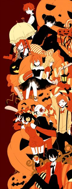 At first I didn't recognise the anime so then when I scrolled down I realised it was Mekakucity Actors XD