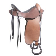 STEELE *Mountaineer Trail Saddle* - Trail Saddles by Steele
