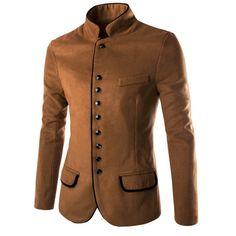 manteau col large homme vetement hommes pinterest. Black Bedroom Furniture Sets. Home Design Ideas