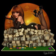 Poker Pin up 1 by ~P...