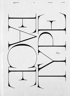 ooo...the serifs look like elegant spider legs.