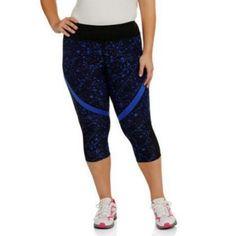 dea1d57ef9e635 Danskin Now Womens Plus Active Fashion Capri @ Walmart.com $14.86 Capri  Pants, Capri