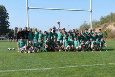 Sábado estivemos com os escalões de Sub 10, 12 e 14, presentes nos 20 anos do Rugby Clube de Santarém.