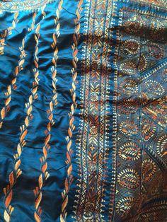 Beautiful kantha work saree