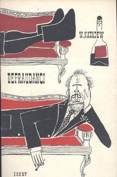 """""""Defraudanci"""" W. Katajew Translated by J. Brodzki Cover and illustrated by Mirosław Pokora Published by Wydawnictwo Iskry 1957"""