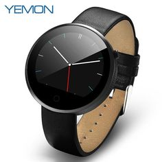 YEMON DM360 Bluetooth Smart Watch, Android Wearable Device, Waterproof, Heart Rate Monitor For iPhone, Explore the Many Features, Nicely Designed