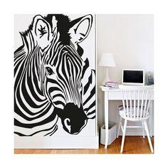 Decora tus paredes con esta magnífica figura de una cebra / Decorate your walls with this magnificent figure of a zebra
