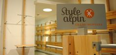 Style Alpin - stand, mobilier commercial, agencement de magasin - Mission