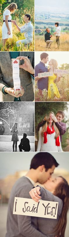 29 Natural Lifestyle Engagement Photos - proposal