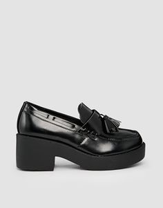 Truffle Platform Tassel Loafers ($36.32 CAD) | ASOS