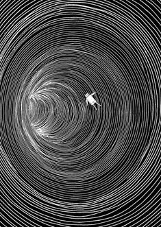 Lost in Space Art Print by Marjanne Mars Illusion Kunst, Illusion Art, Art Sketches, Art Drawings, Space Drawings, Tattoo Sketches, Tattoo Drawings, Arte Obscura, Art Et Illustration