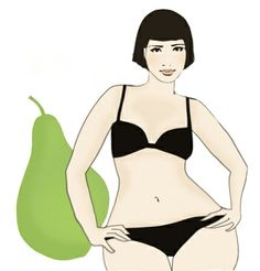 Are you pear shaped?