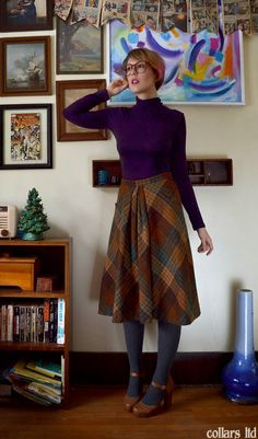 dressed up like a lady: Wool blanket. I mean skirt.