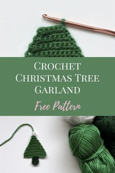 19 Sewing Hacks You Probably Didn't Know- Whether you are a sewing pro or simply a beginner sewing it is always helpful to own some sewing tips. Crochet Christmas Decorations, Christmas Tree Garland, Crochet Christmas Ornaments, Crochet Decoration, Christmas Knitting, Handmade Christmas, Tree Decorations, Christmas Baubles, Free Christmas Crochet Patterns