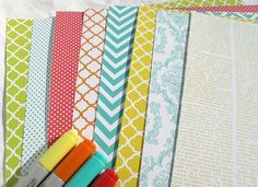 Patterned Paper by Mel Stampz