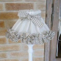 Eye-Opening Cool Tips: Upcycled Lamp Shades Fabrics shabby chic lamp shades french country.