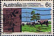 Australia 1970 International Dairy Congress Fine Used    SG 474 Scott 488 Other Auz Stamps here