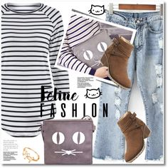A fashion look from October 2016 by svijetlana featuring polyvoreeditorial, catstyle i twinkledeals