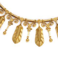 Etruscan revival necklace (detail)
