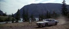 """Clint Eastwood and Jeff Bridges in action driving the Trans Am used in the movie """"Thunderbolt And Lightfoot"""". -- Awesome T/A ,,, ! Thunderbolt And Lightfoot, Jeff Bridges, Trans Am, Drag Cars, Clint Eastwood, Firebird, General Motors, Vintage Cars, Road Trip"""