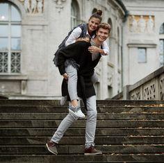 Blogger Couple Shooting - Birkenstock Campaign Shooting  Fashiioncarpet & Patkahlo