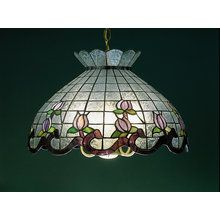 View the Meyda Tiffany 31208 Stained Glass / Tiffany Down Lighting Pendant from the Roseborder & Tulip Collection at LightingDirect.com.