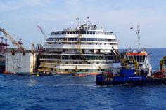 Costa Concordia Refloat 2014