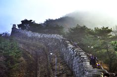 The Seoul Fortress Wall - Bugaksan Section  http://www.ramblr.com