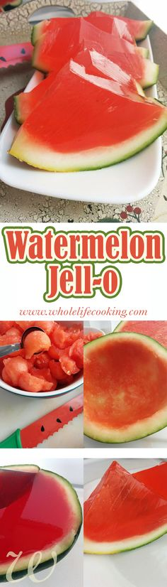 A new way to eat watermelon.