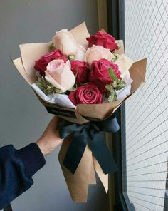 58 Ideas For Flowers Beautiful Bouquet Florists Boquette Flowers, Luxury Flowers, Fresh Flowers, Planting Flowers, Flowers Garden, Bouquet Wrap, Gift Bouquet, Peony Bouquet Wedding, Rose Bouquet