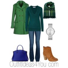 How To Wear Green For A Light Spring