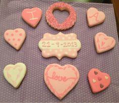 Maralon Bakery: Galletas para una boda preciosa.