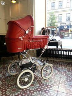 Retro barnvagnar