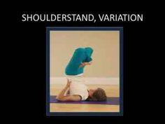 Shoulder stand, Variation