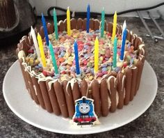 Birthday Cake All Ready For My 14 Year Old Boy